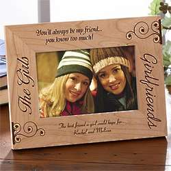 Personalized Best Friends Picture Frame