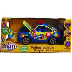 M&Ms Police Car Candy Dispenser