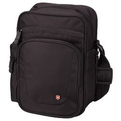 Black Vertical Travel Companion Bag