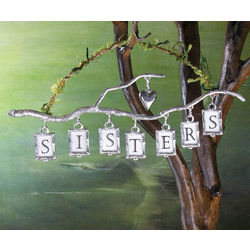 Sisters Pewter Branch Wall Hanging