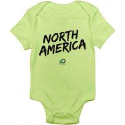 Green North America Logo Baby Crawler