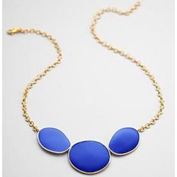Enamel Large Scale Necklace
