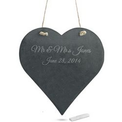 Decorative Heart Chalkboard
