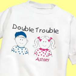 Double Trouble Youth Sweatshirt