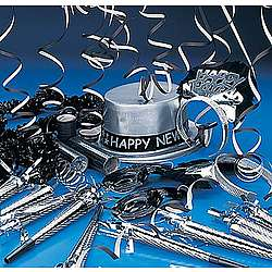 Black & Silver New Year's Assortment for 25