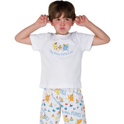 Birthday Fishes Pajamas for Boys