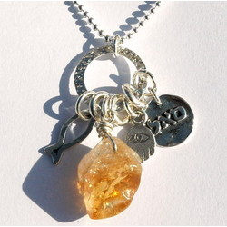 Prosperity Natural Citrine Necklace