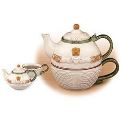 Celtic Claddagh Tea-for-One