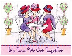 Red Hat Society Invitations