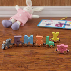 Pastel Name Personalized Train