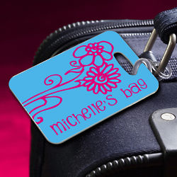 Personalized Bon Voyage Luggage Tag