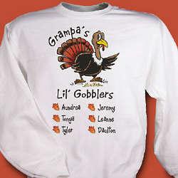 Grandpa's Lil' Gobblers Sweatshirt