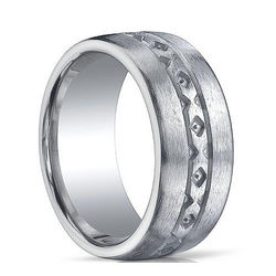 Men's Argentium Sterling Silver Ring