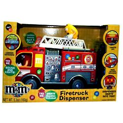 M&M's Fire Truck Candy Dispenser