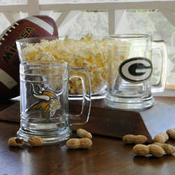 Engraved NFL Medallion Mug