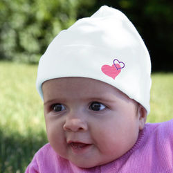 Somebody Loves Me Baby Hat