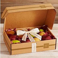 California Varietal Pears with Personalized Ribbon Gift Box