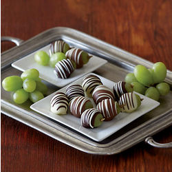 Belgian Chocolate Covered Grapes