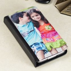 Personalized Photo and Text Bi-Fold Case for Samsung Galaxy S5