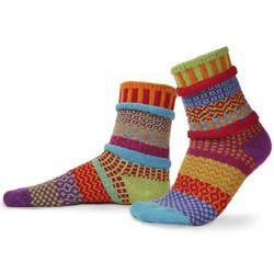 Cosmos Mismatched Crew Socks