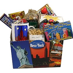 Taste of New York Deluxe Gift Basket
