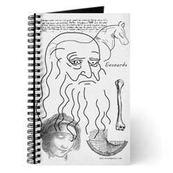 Da Vinci Notebook Journal