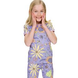 Girls Wildflower Pajamas