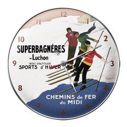 Superbagneres-Luchon Ski Clock