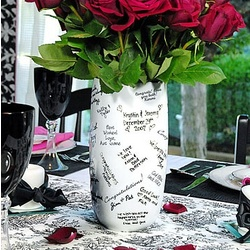 Wedding Party Signature Vase