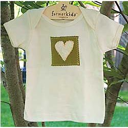 Natural Heart Organic Cotton Infant Tee