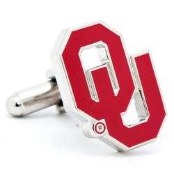 Oklahoma University Sooners Enamel Cufflinks