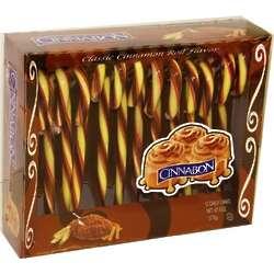 Cinnabon Cinnamon Roll Candy Canes
