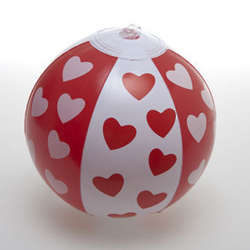 Mini Heart Beachball