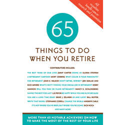 65 Things to Do When You Retire Book