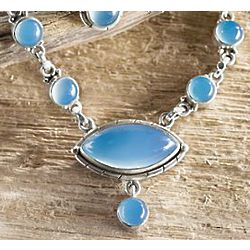 Marmara Sea Chalcedony Necklace