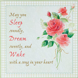Sleep, Dream, Wake Decorative Wall Plaque