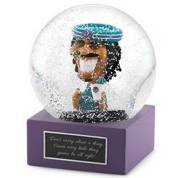 Dude Snow Globe