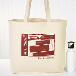 Teacher's Personalized Tote Bag