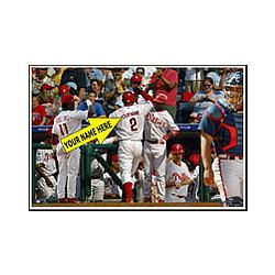 Personalized Philadelphia Phillies Photo