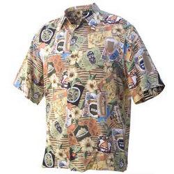 Trader Vic's Travelogue Shirt