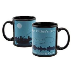 Father's Day Fishing Mug