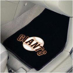 San Francisco Giants MLB Car Mats