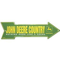John Deere Arrow Street Sign