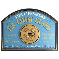 Coast Guard Wall Sign