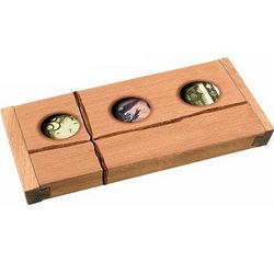 Don't Count On It Money Madness Wooden Puzzle Box