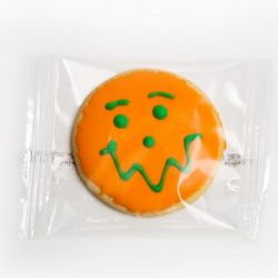Halloween Pumpkin Cookies for Trick Or Treaters