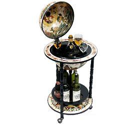 Bianco Italian Style Globe Bar