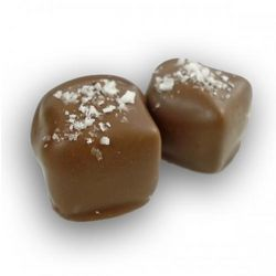 Salted Caramels in Milk Chocolate Box