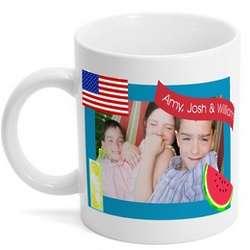 American Summer Photo Mug