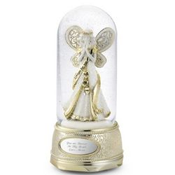 Make-A-Wish Prayer Angel Snow Globe